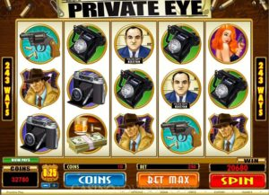 PRIVATE EYE BY MICROGAMING